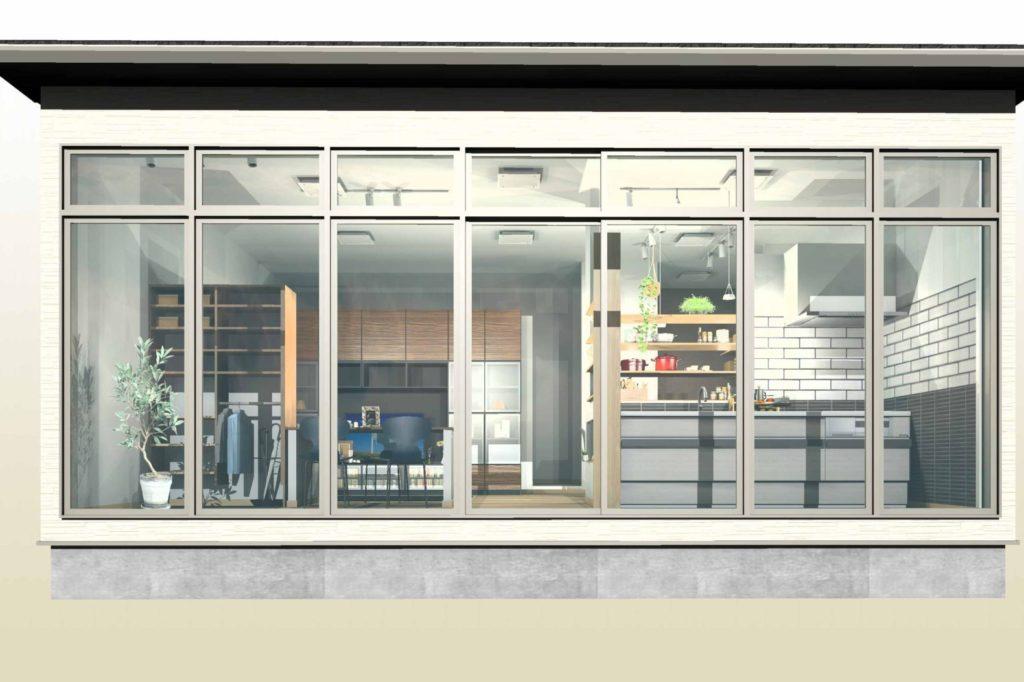 リフォームスタジオ リフォーム会社様のショールーム 外部からのイメージ②