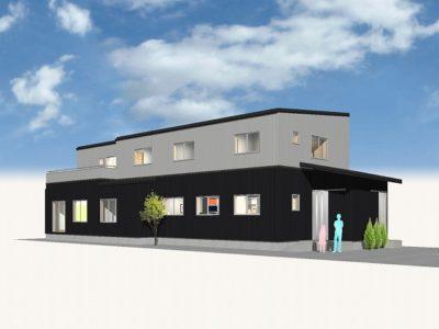 福祉施設 生活スペースも兼ねた新築工事