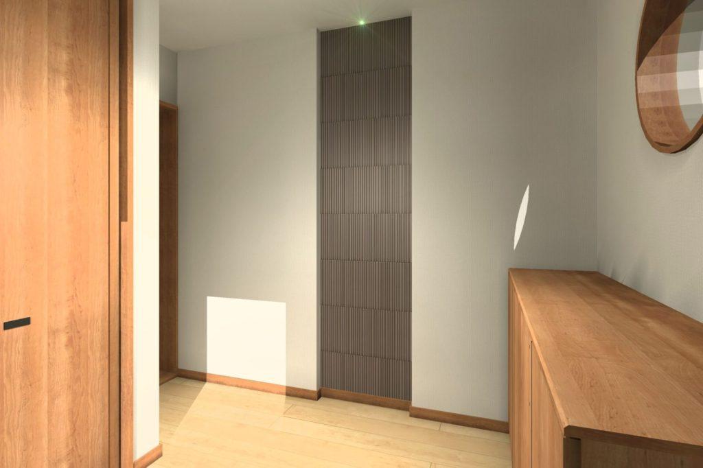 玄関ホールインテリア 不採用案 W600